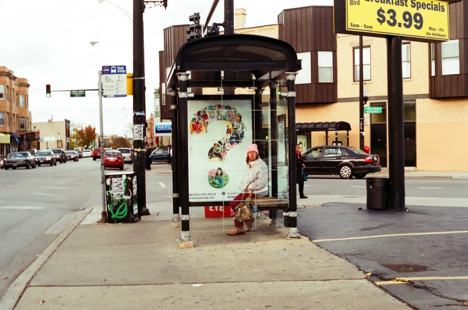 chicago bus stop